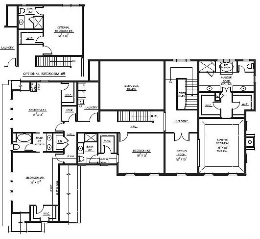 15 Bedroom House Floor Plan Home Design And Style
